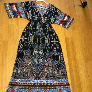 Flying Tomato Boho Maxi dress size small
